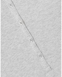 T-shirt di NINETY PERCENT in Gray
