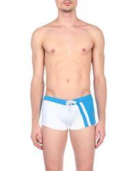 Maillot de bain sport Bikkembergs pour homme en coloris Blue