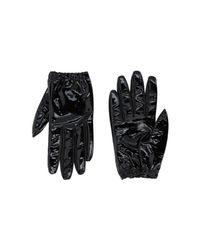 Jil Sander Navy - Black Gloves - Lyst