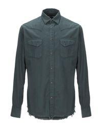 Camisa Macchia J de hombre de color Green