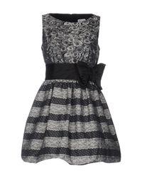 RED Valentino Gray Short Dress