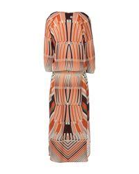 Julia June Brown Long Dress
