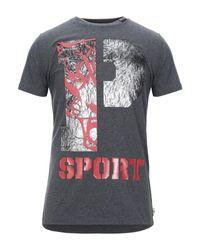 Camiseta Philipp Plein de hombre de color Gray