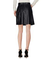 Muubaa | Black Knee Length Skirt | Lyst