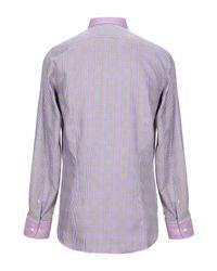 Chemise Etro pour homme en coloris Purple
