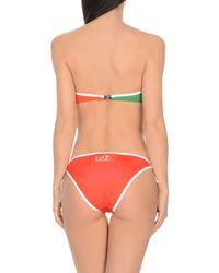 EA7 Red Bikini