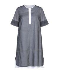 Vestito al ginocchio di Peserico in Gray