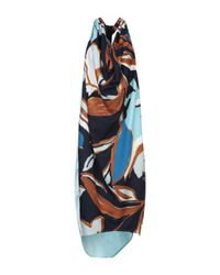 Robe mi-longue Satine Label en coloris Blue
