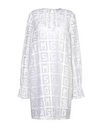 Vestito corto di MSGM in White