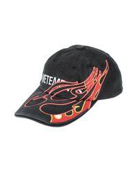 Vetements Black Hat for men