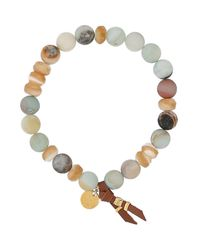 Chan Luu - White Bracelet - Lyst