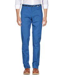 Pantalone di Versace Jeans in Blue da Uomo