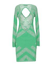 Vestito corto di Philipp Plein in Green