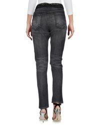 Gucci Gray Denim Trousers