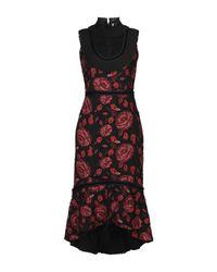 Alice + Olivia Red Knee-length Dress