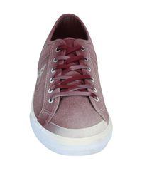 Le Coq Sportif Purple Low Sneakers & Tennisschuhe