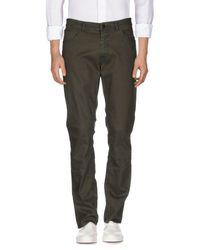 Versace Green Denim Pants for men