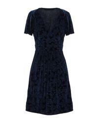 Naf Naf Blue Kurzes Kleid