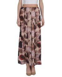 X's Milano Natural Long Skirt