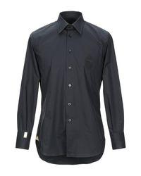 Camisa Billionaire de hombre de color Black