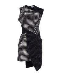 Yiqing Yin Black Short Dress