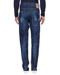 Pantalones vaqueros DSquared² de hombre de color Blue