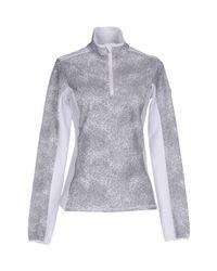 EA7 - Gray Sweatshirt - Lyst