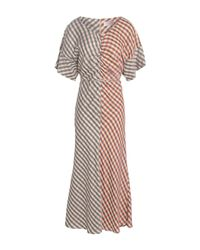 BOSS by Hugo Boss Multicolor Long Dress