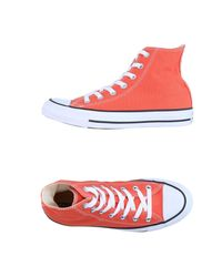 Converse Orange High-tops & Sneakers for men