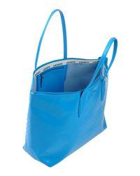 Lacoste - Blue Handbag - Lyst