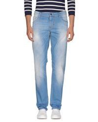 Antony Morato Blue Denim Pants for men