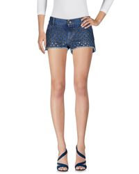Shorts jeans di RED Valentino in Blue