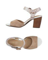 Sandali di Geox in Natural