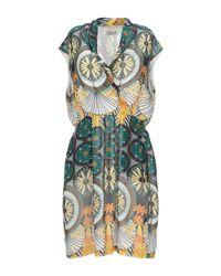 Molly Bracken Green Short Dress