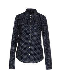 Maison Scotch Blue Denim Shirt