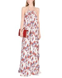 Sly010 White Long Dresses