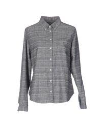 YMC | Blue Shirt for Men | Lyst
