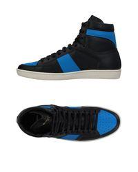 Saint Laurent Black High-tops & Sneakers for men