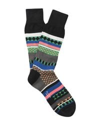 Paul Smith Black Short Socks for men