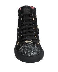 Blumarine Black High-tops & Sneakers