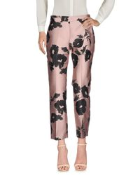 Ki6? Who Are You? Pink Casual Pants