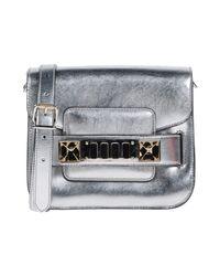Proenza Schouler Metallic Cross-body Bag