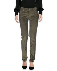7 For All Mankind Green Casual Pants