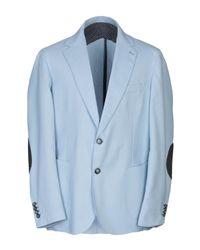 Gallery Blue Suit Jacket for men