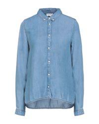 American Vintage Blue Denim Shirt