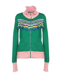Cardigan Glamorous en coloris Green