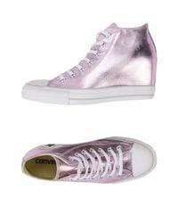 Converse Purple High-tops & Sneakers