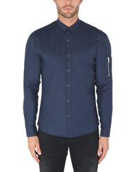 The Kooples Sport Blue Shirt for men