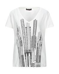 Trussardi White T-shirts