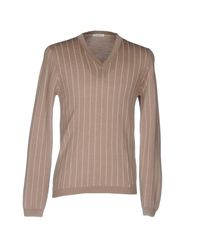Paolo Pecora - Gray Jumper for Men - Lyst